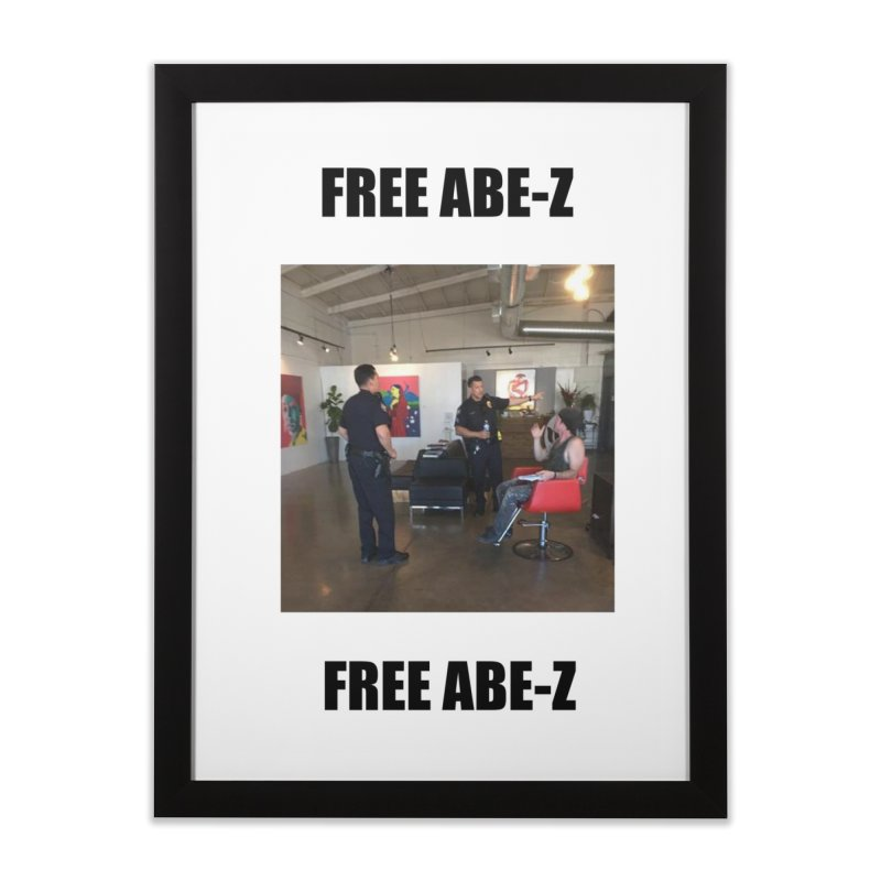 FREE ABE-Z Home Framed Fine Art Print by Post Zen