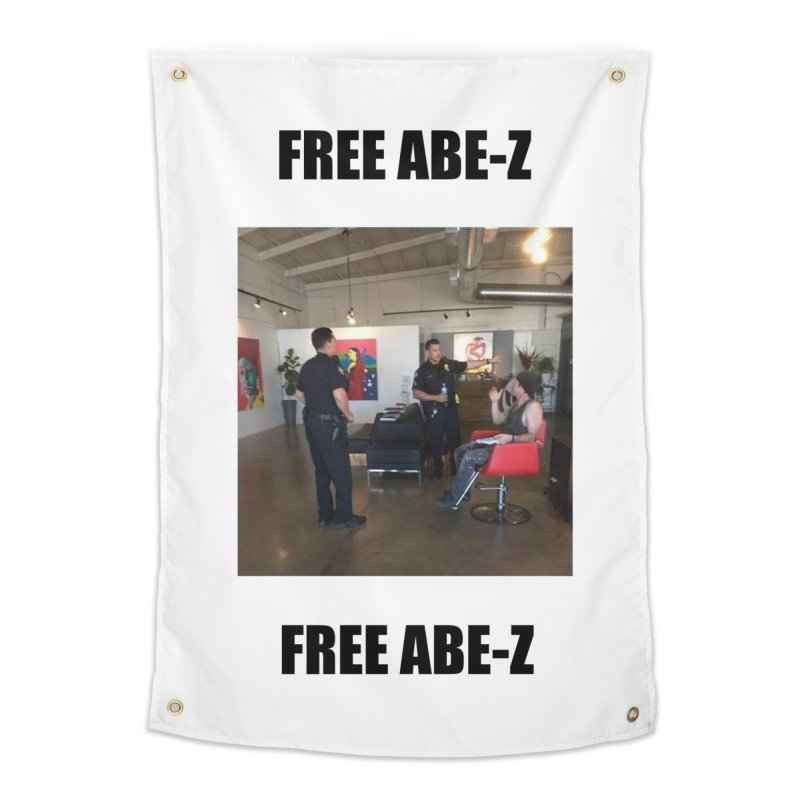FREE ABE-Z Home Tapestry by Post Zen