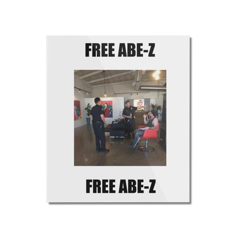 FREE ABE-Z Home Mounted Acrylic Print by Post Zen