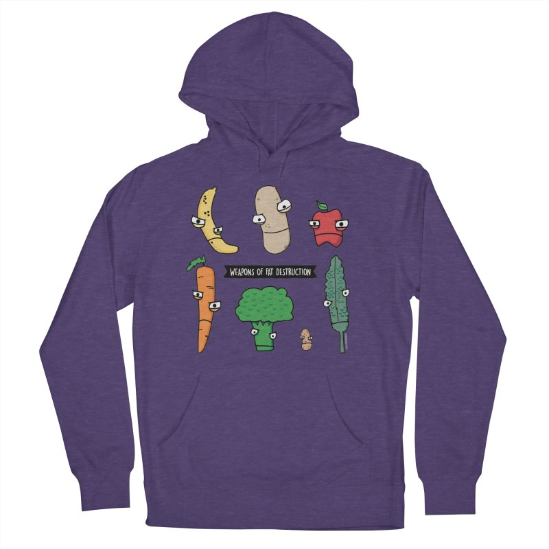 Weapons of Fat Destruction - Performance Shirt Women's French Terry Pullover Hoody by Potato Wisdom's Artist Shop