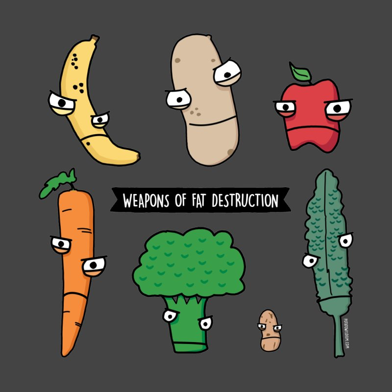 Weapons of Fat Destruction Shirts by Potato Wisdom's Artist Shop