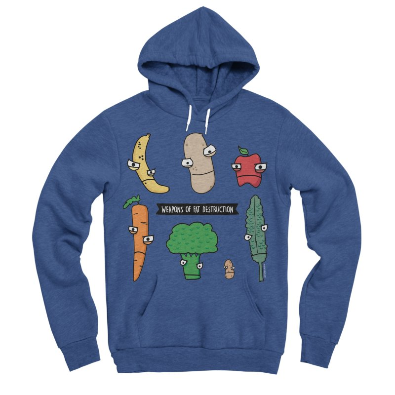 Weapons of Fat Destruction Shirts Women's Sponge Fleece Pullover Hoody by Potato Wisdom's Artist Shop