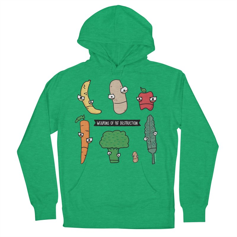 Weapons of Fat Destruction Shirts Men's French Terry Pullover Hoody by Potato Wisdom's Artist Shop