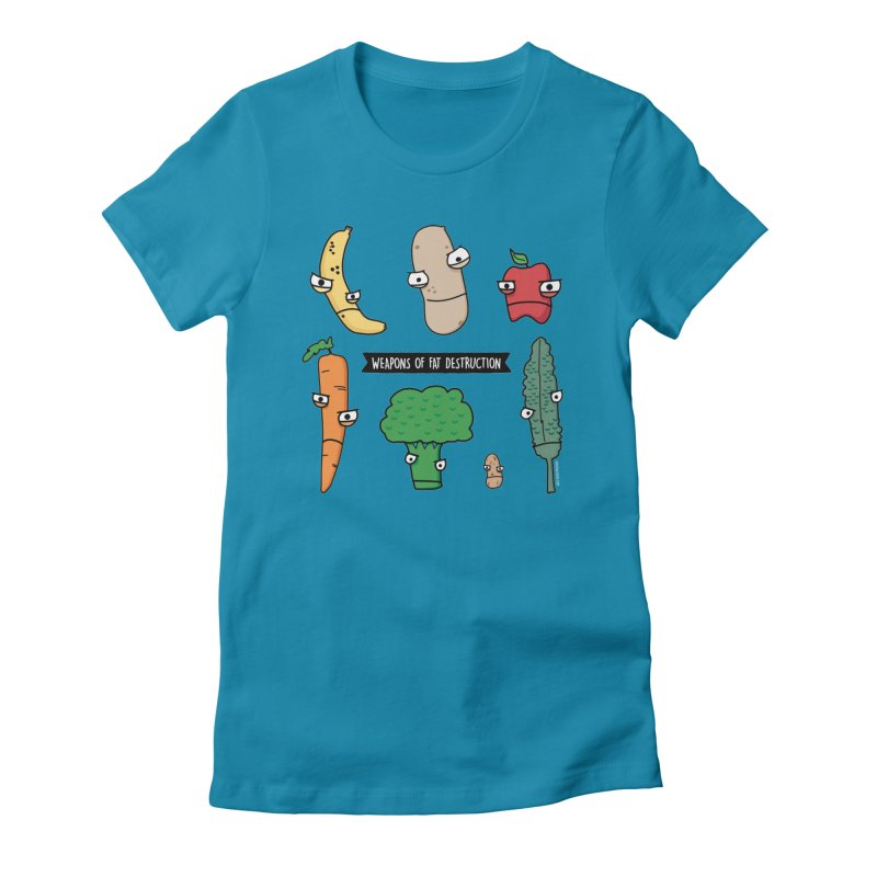 Weapons of Fat Destruction Shirts Women's T-Shirt by Potato Wisdom's Artist Shop