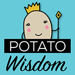 Potato Wisdom's Artist Shop Logo