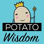 Potato Wisdom's Artist Shop Logo