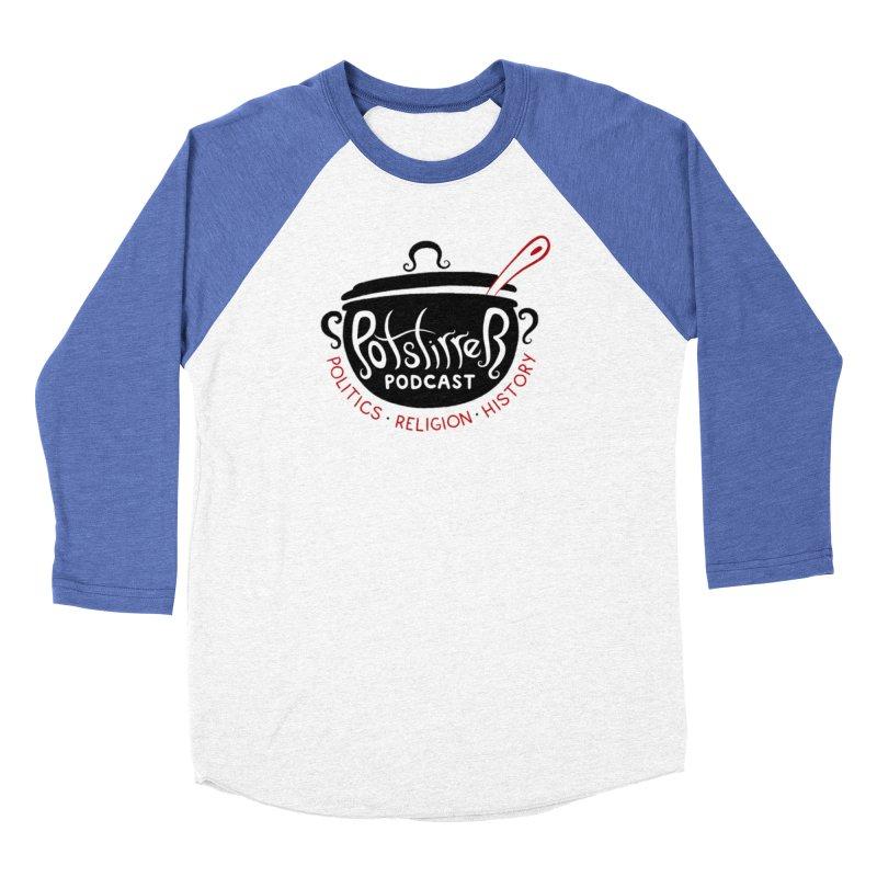 Potstirrer Podcast - Current Logo Men's Longsleeve T-Shirt by potstirrerpodcast's Artist Shop