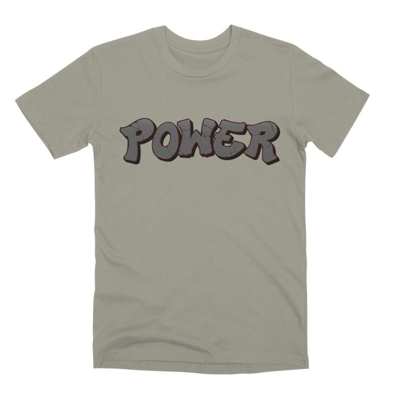POWER cracks Men's Premium T-Shirt by Power Artist Shop