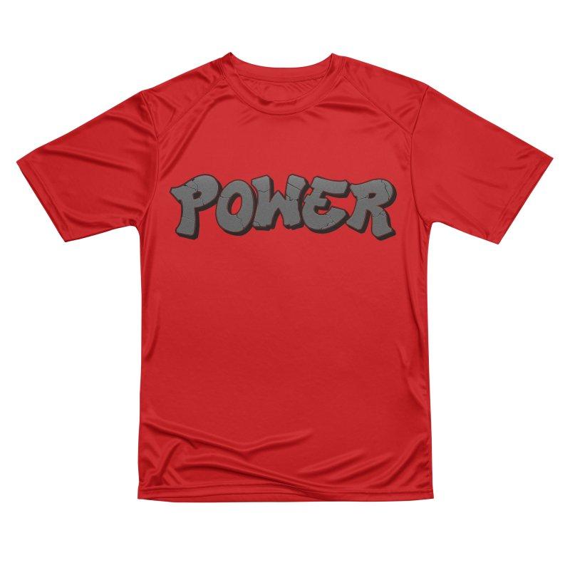 POWER cracks Men's Performance T-Shirt by Power Artist Shop