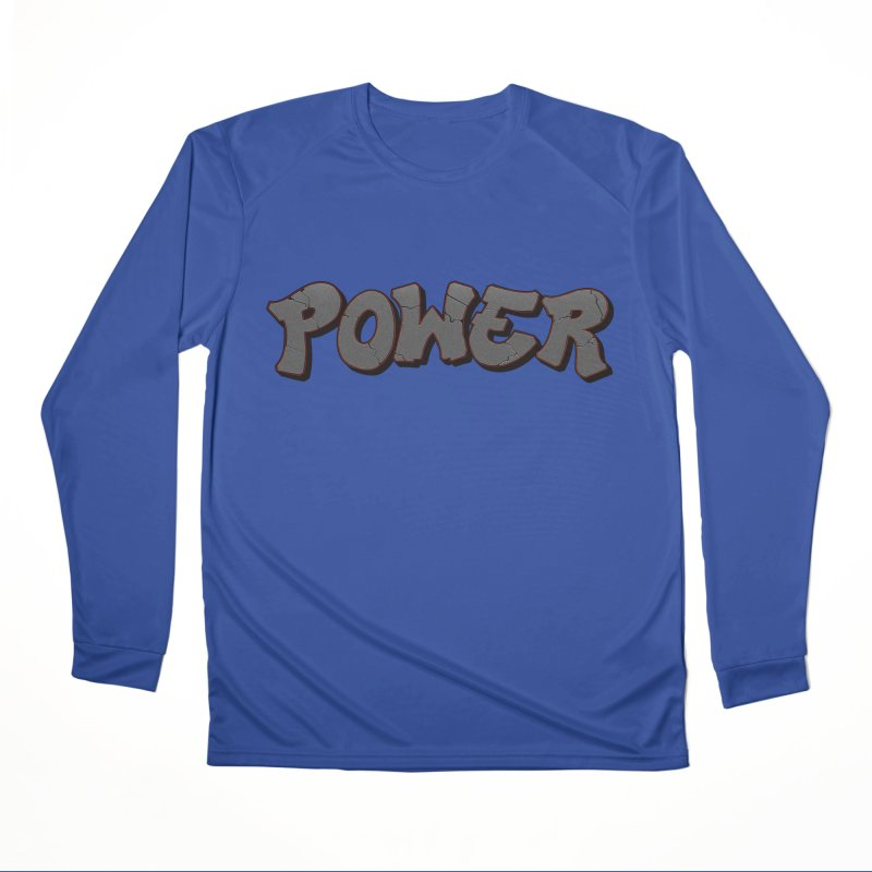 POWER cracks Women's Performance Unisex Longsleeve T-Shirt by Power Artist Shop