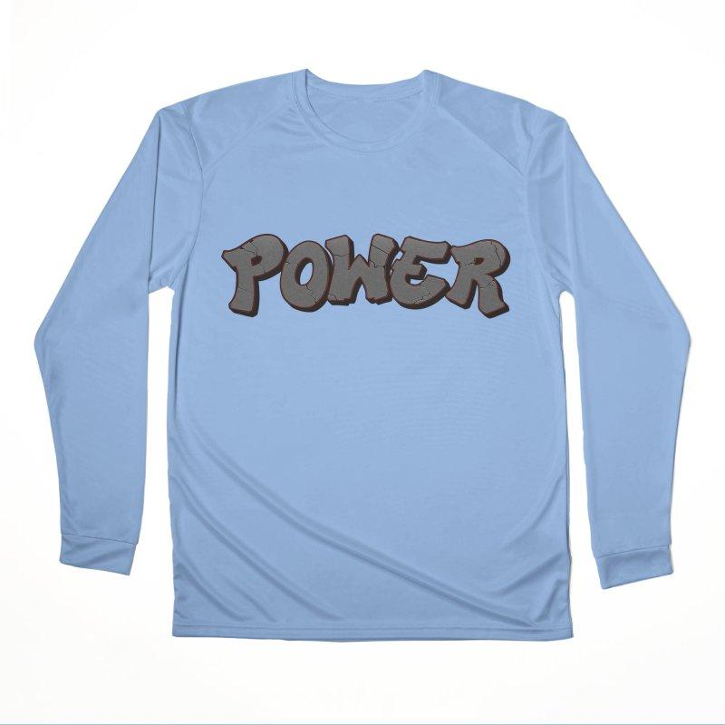 POWER cracks Women's Performance Unisex Longsleeve T-Shirt by Power Artist Shop