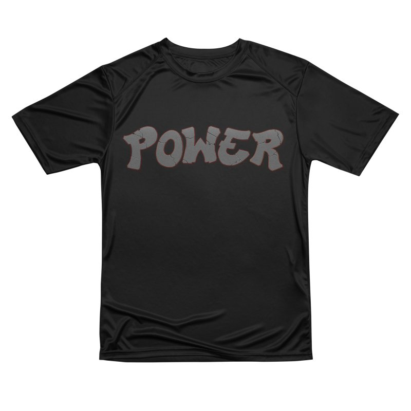 POWER cracks Women's Performance Unisex T-Shirt by Power Artist Shop