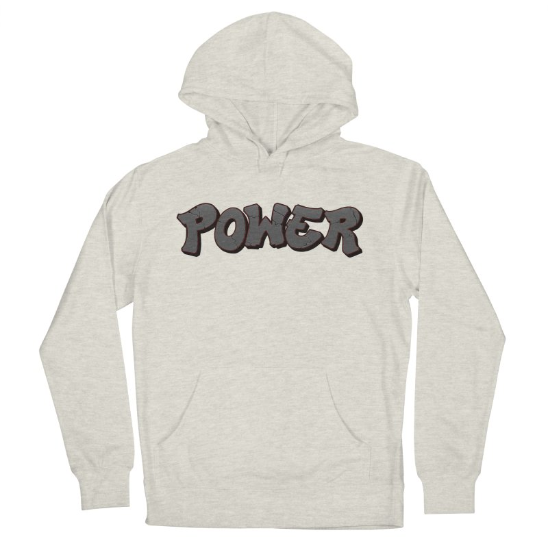 POWER cracks Women's French Terry Pullover Hoody by Power Artist Shop