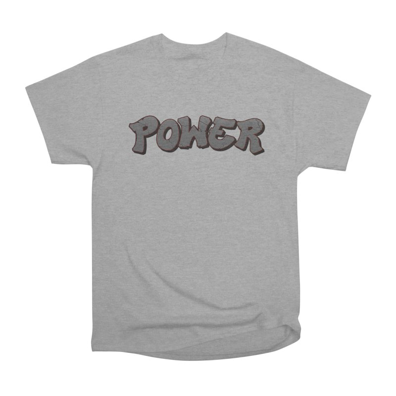 POWER cracks Men's Heavyweight T-Shirt by Power Artist Shop