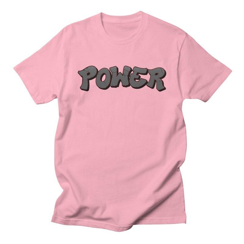 POWER cracks Women's Regular Unisex T-Shirt by Power Artist Shop