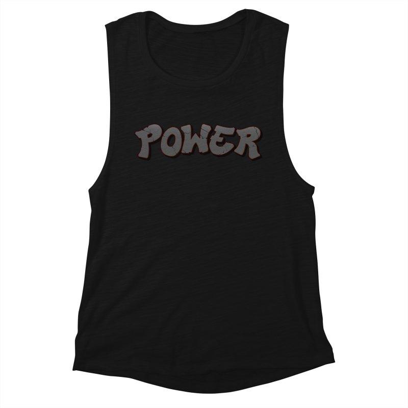 POWER cracks Women's Muscle Tank by Power Artist Shop