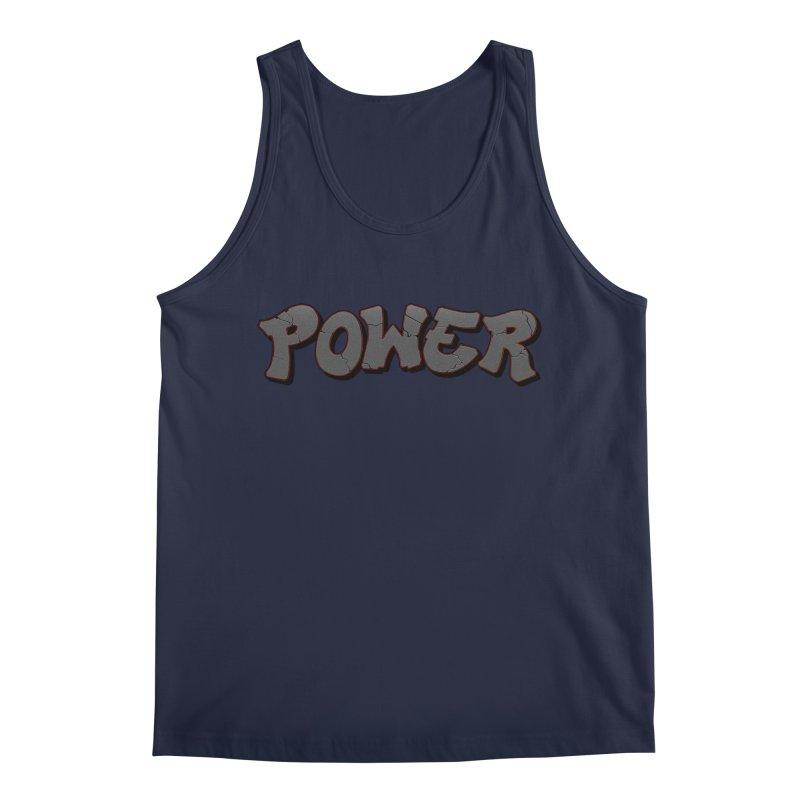 POWER cracks Men's Regular Tank by Power Artist Shop
