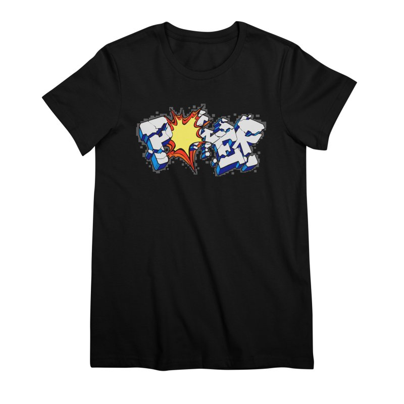POWER explode Women's Premium T-Shirt by Power Artist Shop