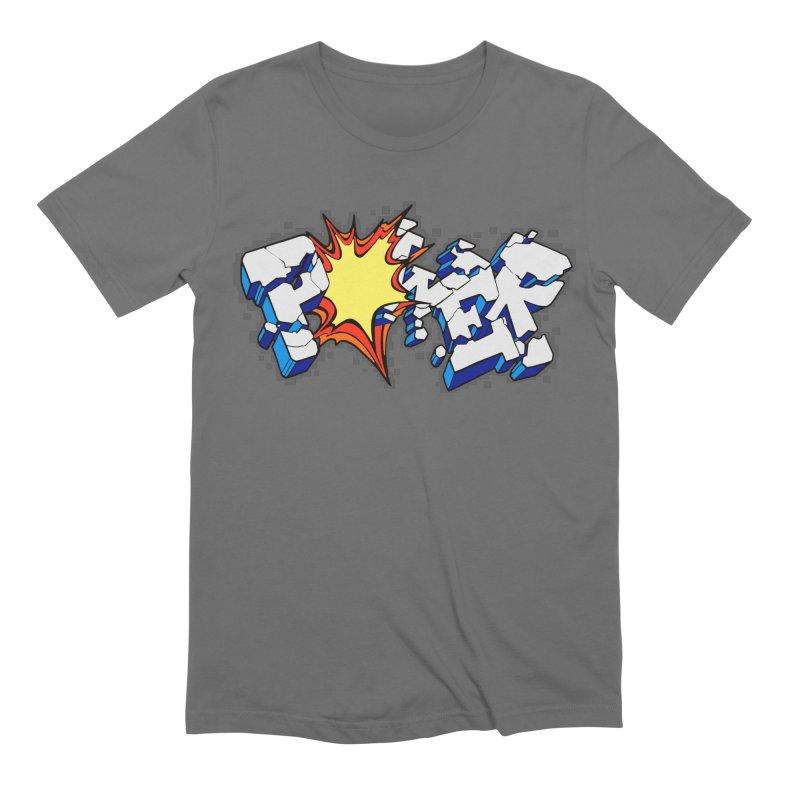 POWER explode Men's T-Shirt by Power Artist Shop
