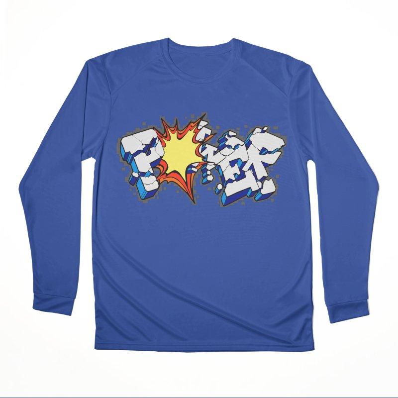 POWER explode Men's Performance Longsleeve T-Shirt by Power Artist Shop