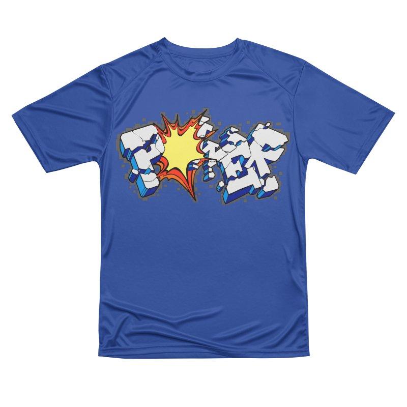 POWER explode Women's Performance Unisex T-Shirt by Power Artist Shop