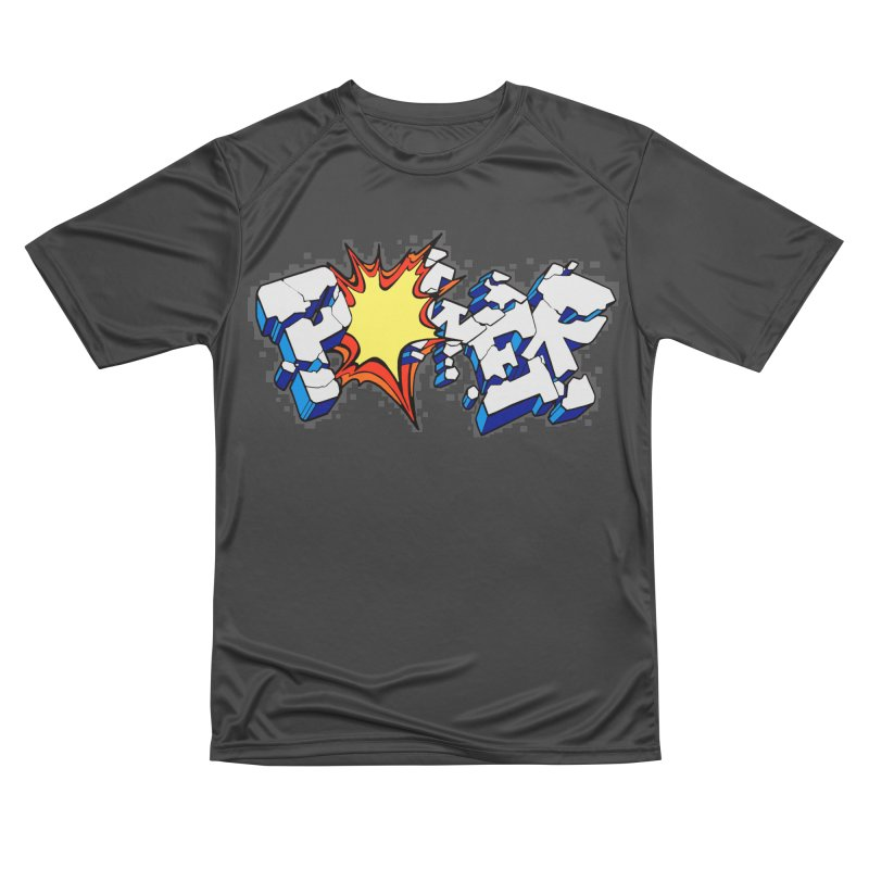 POWER explode Women's Performance Unisex T-Shirt by Power Artist Shop