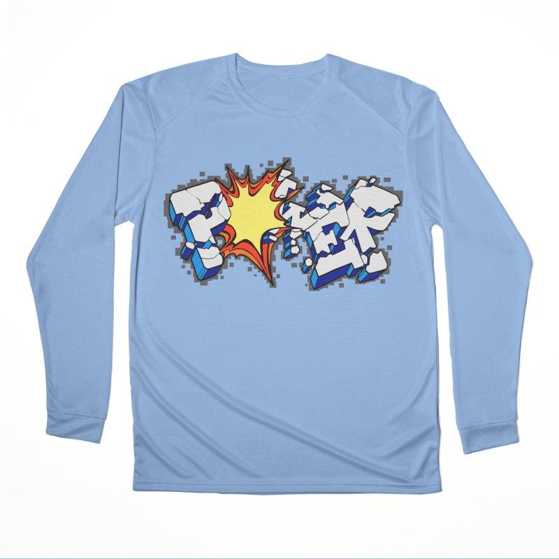 POWER explode Women's Performance Unisex Longsleeve T-Shirt by Power Artist Shop