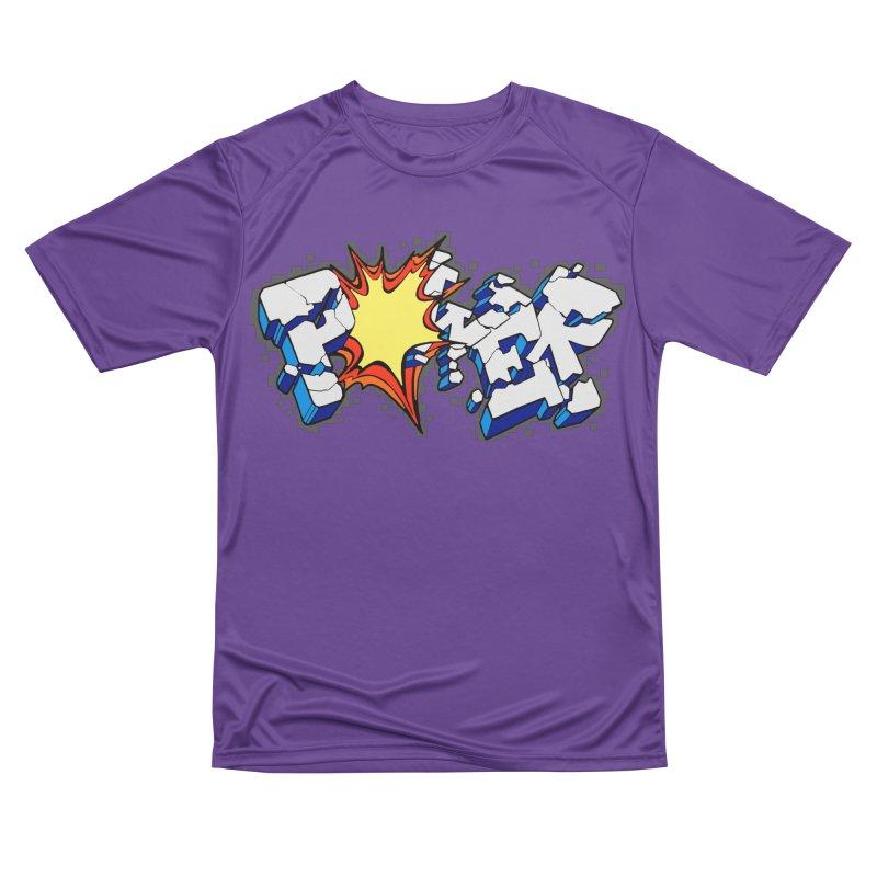 POWER explode Men's Performance T-Shirt by Power Artist Shop