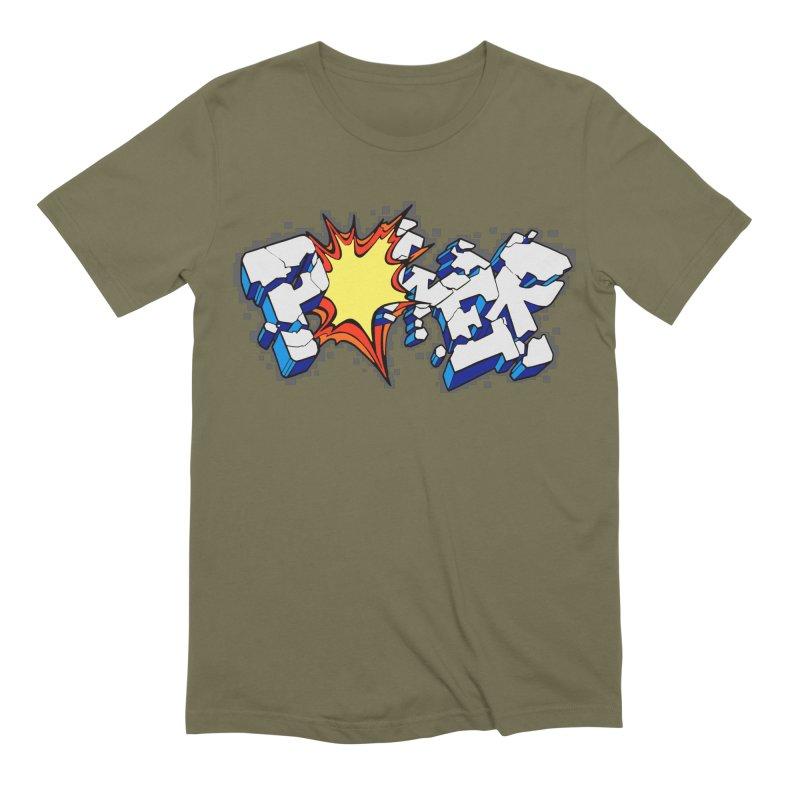POWER explode Men's Extra Soft T-Shirt by Power Artist Shop