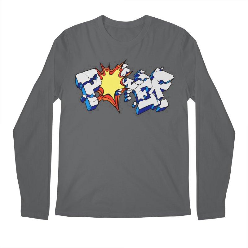POWER explode Men's Longsleeve T-Shirt by Power Artist Shop