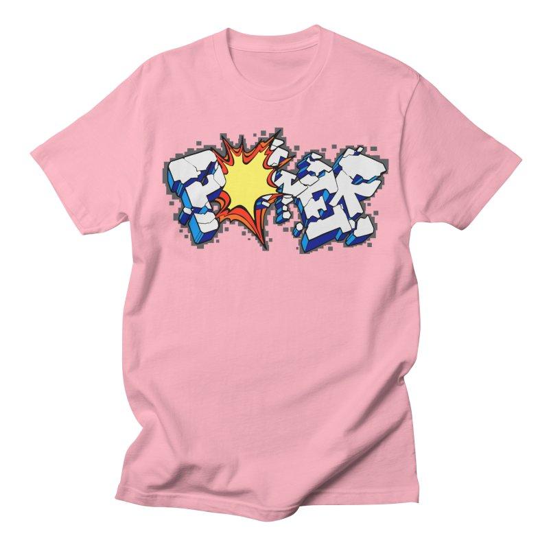 POWER explode Women's T-Shirt by Power Artist Shop
