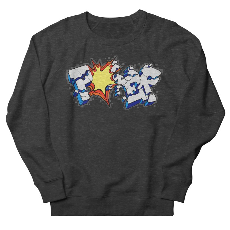 POWER explode Men's Sweatshirt by Power Artist Shop