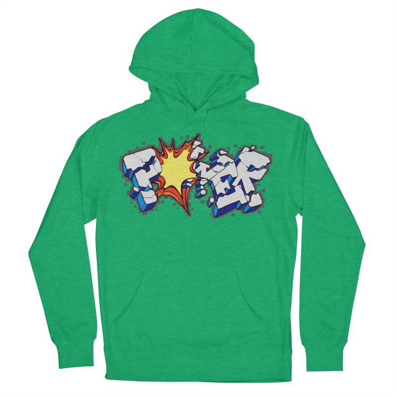 POWER explode Women's French Terry Pullover Hoody by Power Artist Shop