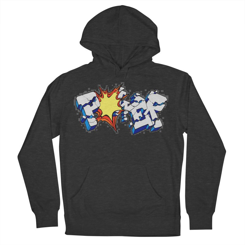POWER explode Men's French Terry Pullover Hoody by Power Artist Shop