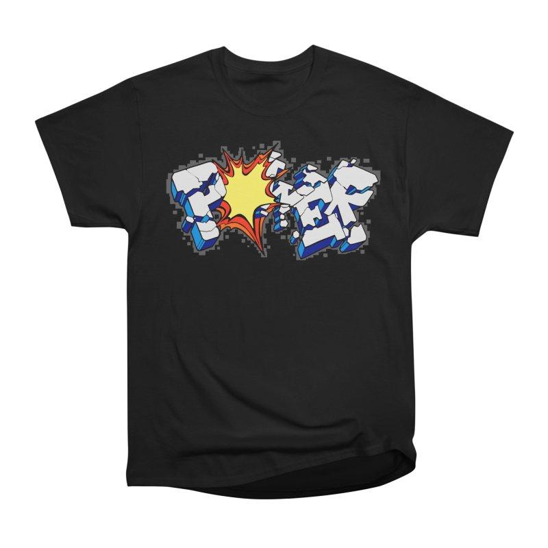 POWER explode Men's Heavyweight T-Shirt by Power Artist Shop