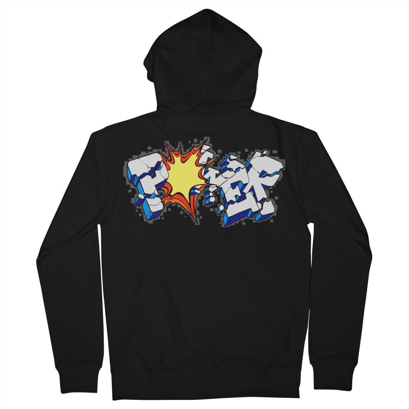 POWER explode Women's French Terry Zip-Up Hoody by Power Artist Shop