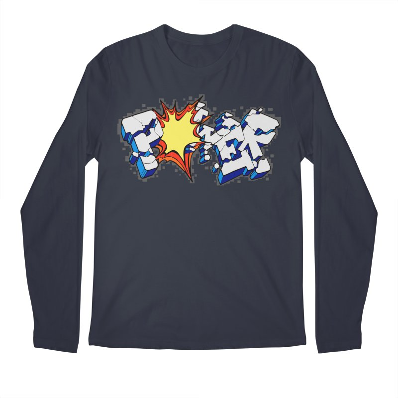 POWER explode Men's Regular Longsleeve T-Shirt by Power Artist Shop