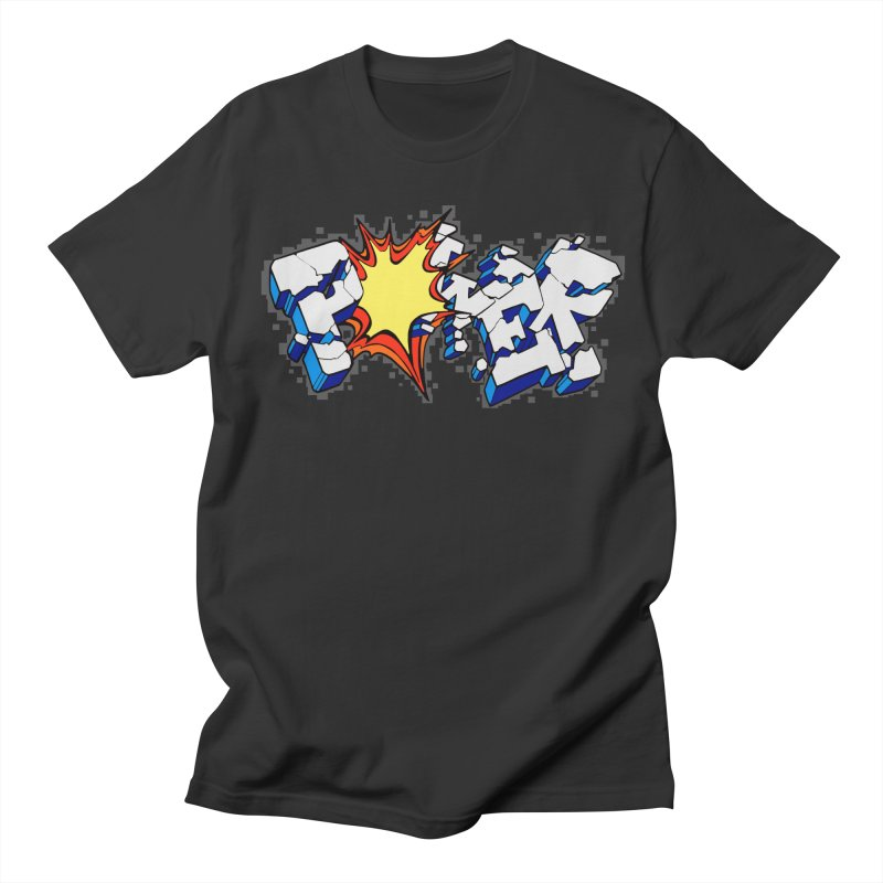 POWER explode Men's Regular T-Shirt by Power Artist Shop