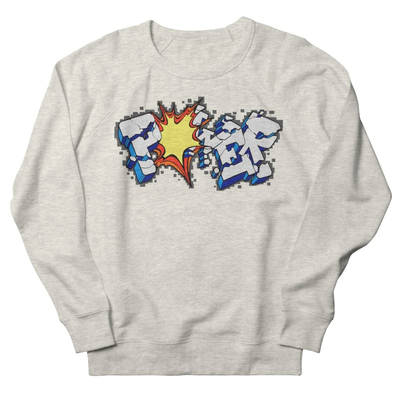 POWER explode Women's French Terry Sweatshirt by Power Artist Shop