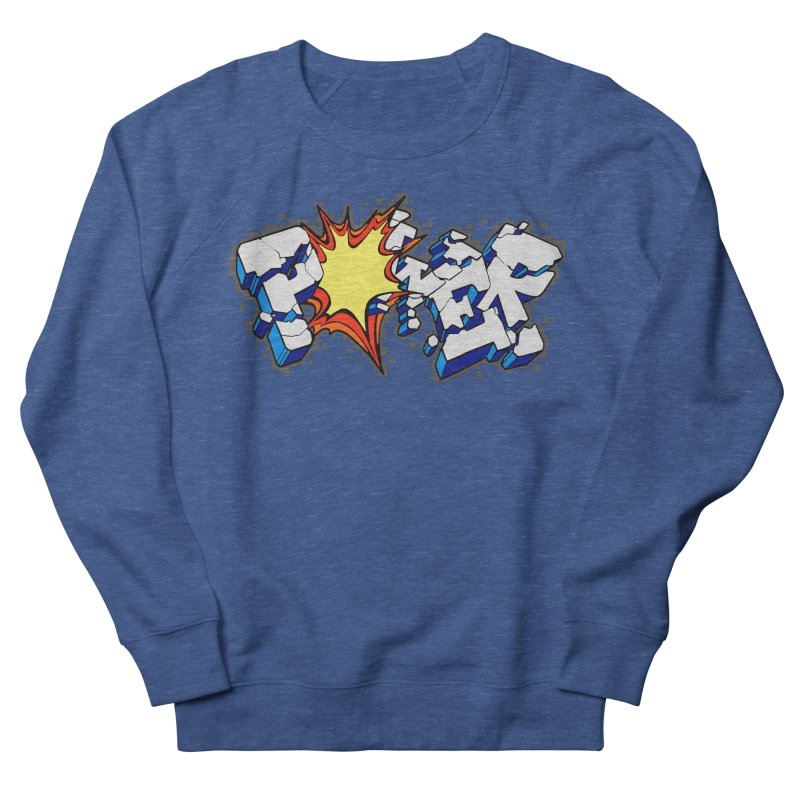 POWER explode Men's Sweatshirt by Power Artist Shop
