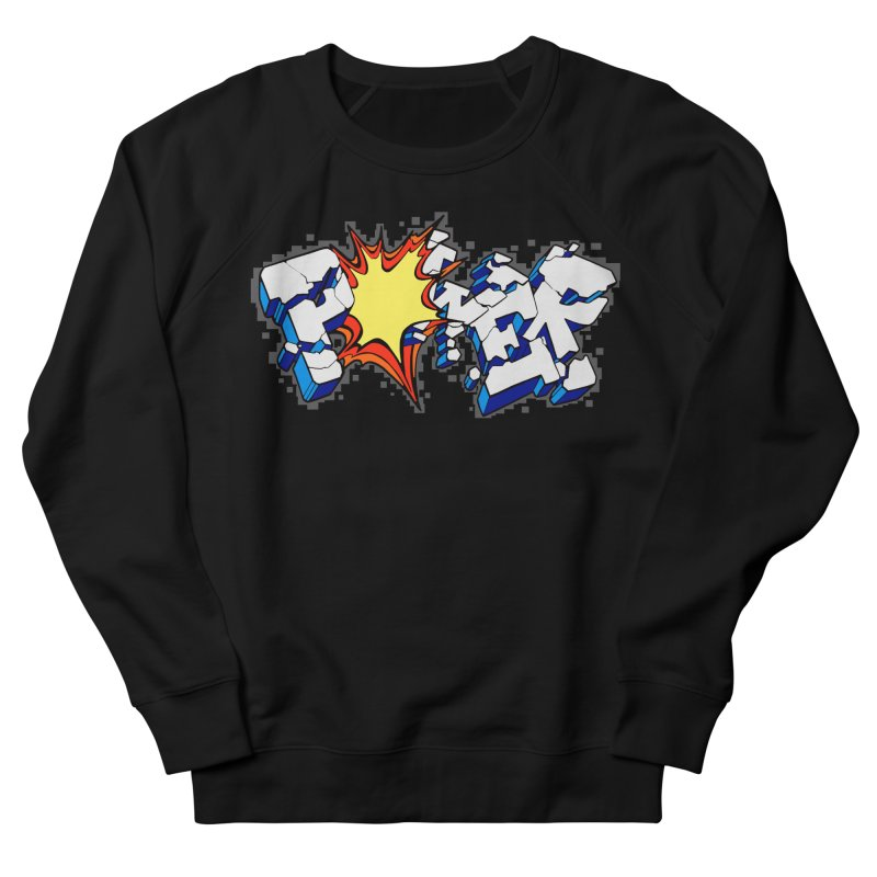 POWER explode Men's French Terry Sweatshirt by Power Artist Shop