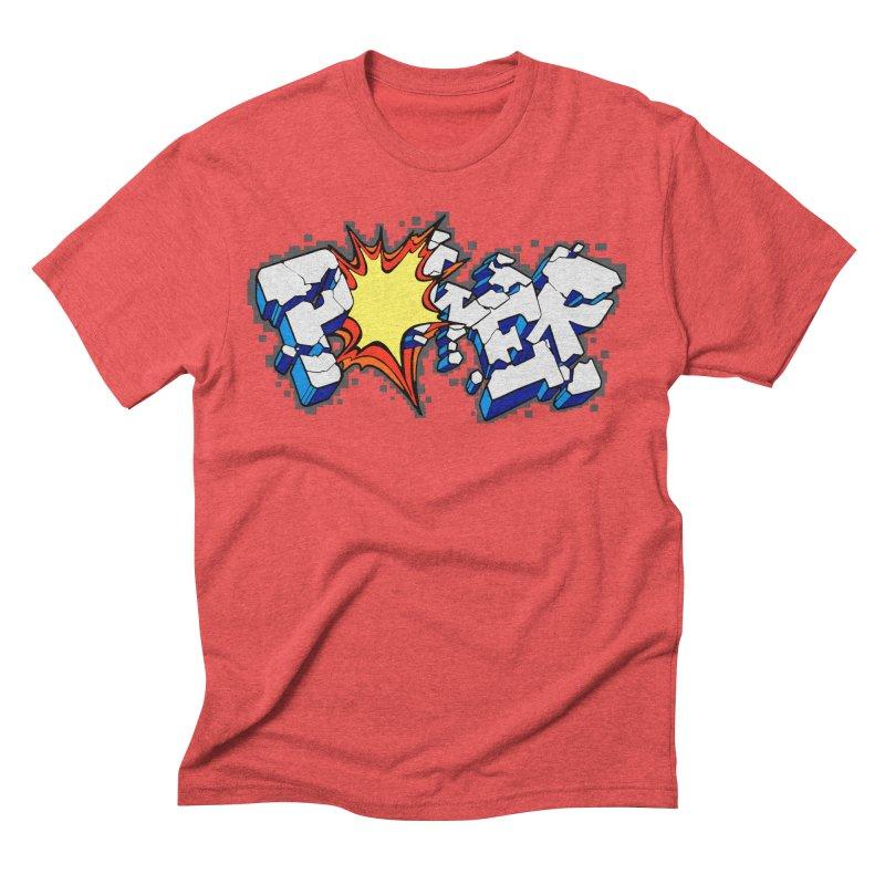 POWER explode Men's Triblend T-Shirt by Power Artist Shop