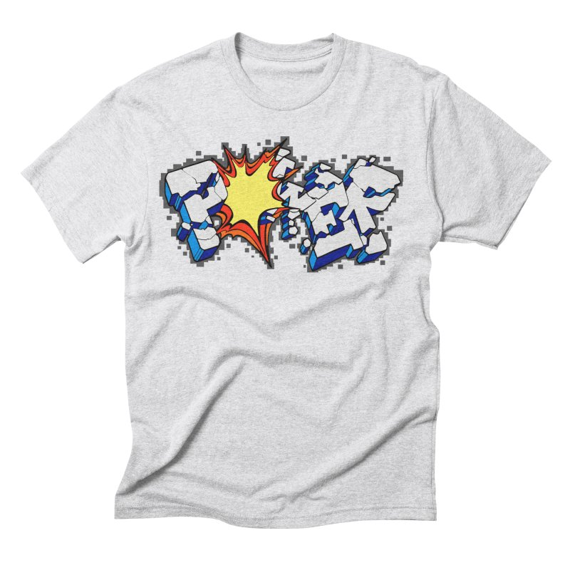 POWER explode Men's Triblend T-Shirt by Power Artist Shop