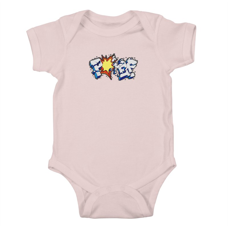 POWER explode Kids Baby Bodysuit by Power Artist Shop