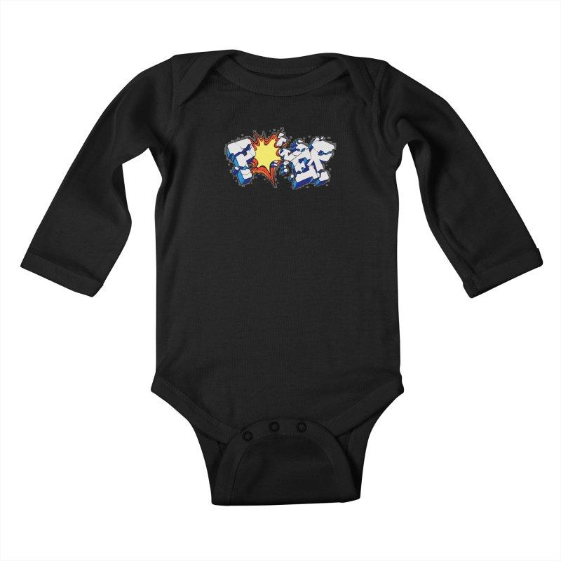 POWER explode Kids Baby Longsleeve Bodysuit by Power Artist Shop