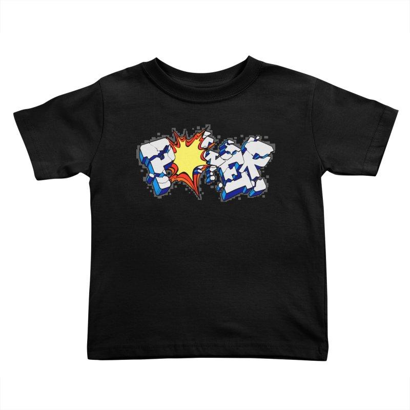 POWER explode Kids Toddler T-Shirt by Power Artist Shop