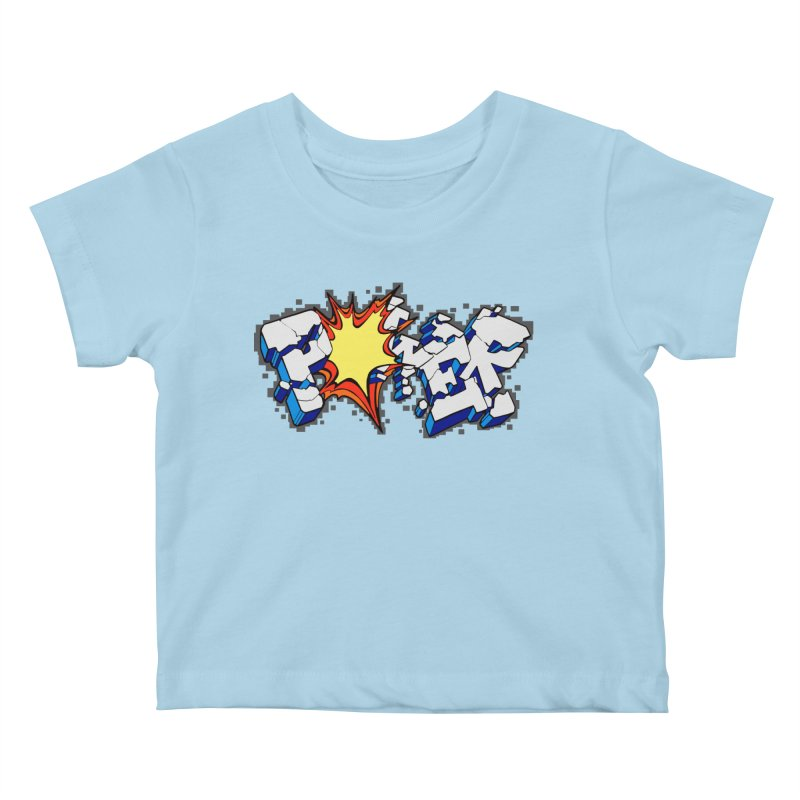 POWER explode Kids Baby T-Shirt by Power Artist Shop