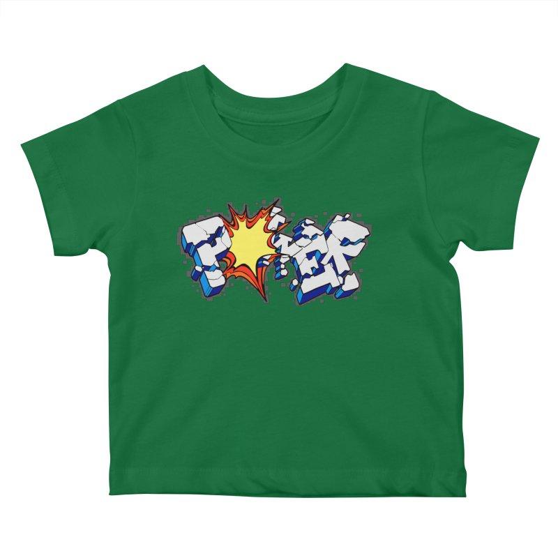 POWER explode Kids Baby T-Shirt by Power Artist Shop