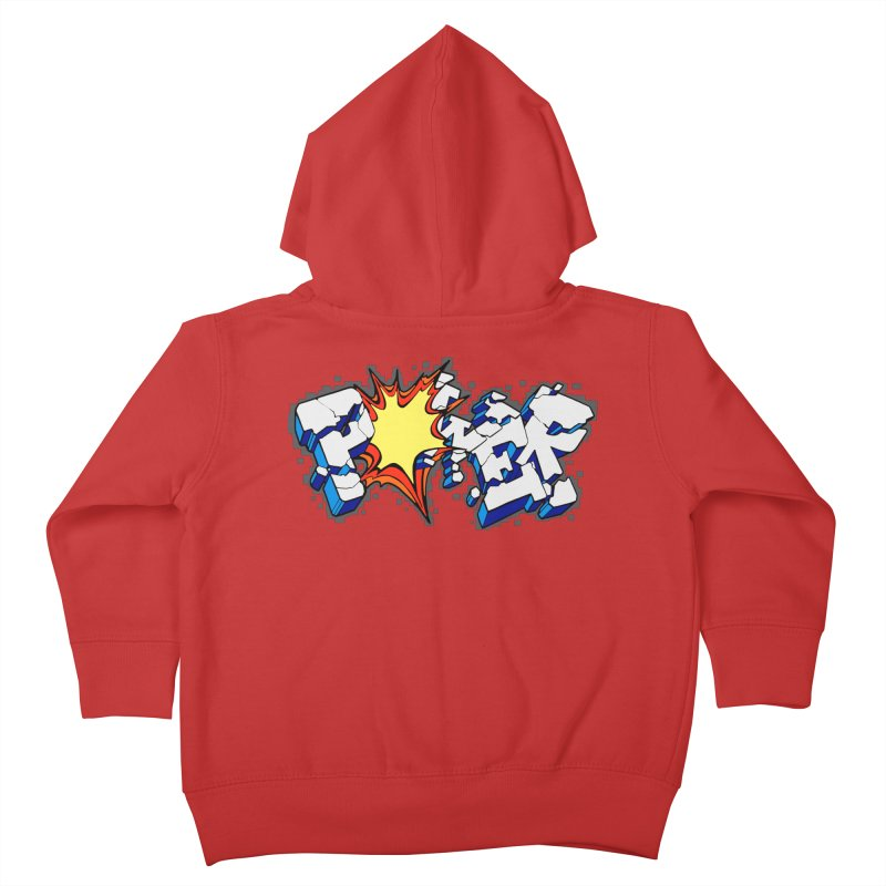 POWER explode Kids Toddler Zip-Up Hoody by Power Artist Shop
