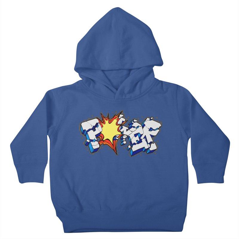 POWER explode Kids Toddler Pullover Hoody by Power Artist Shop